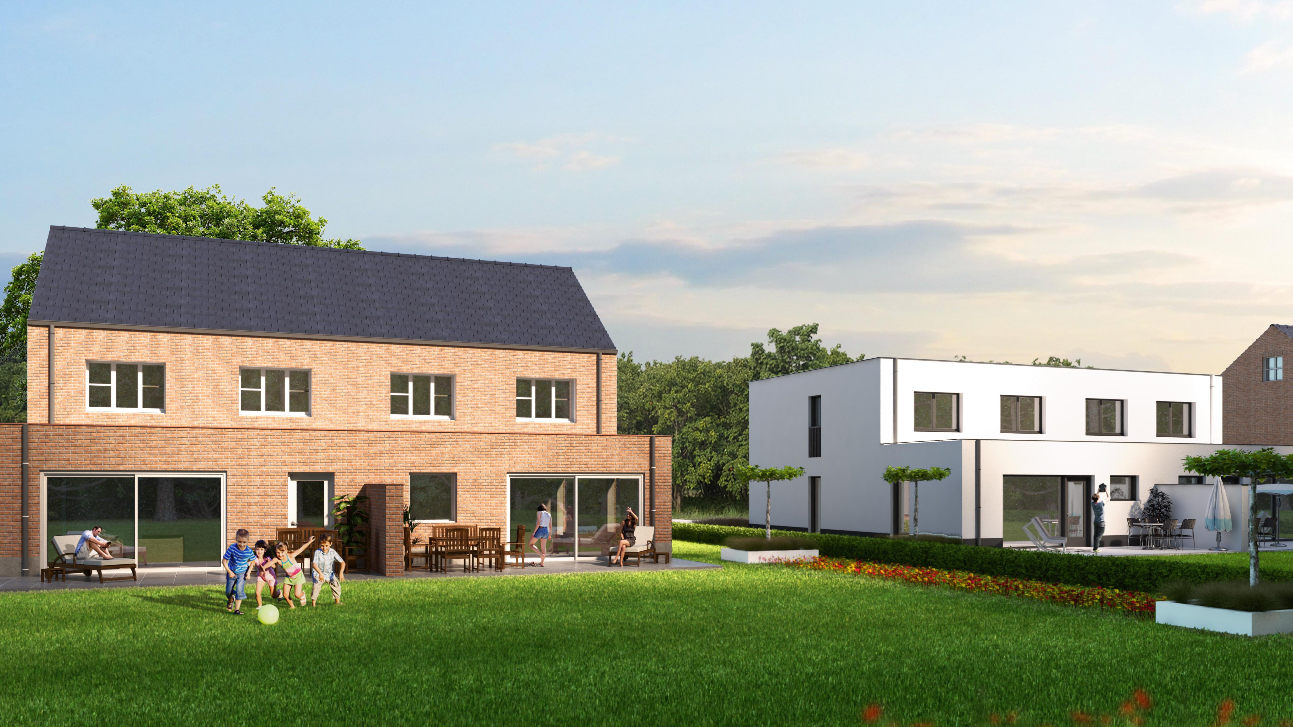 8 ruime nieuwbouwwoningen – Stallscheheide – te Koersel